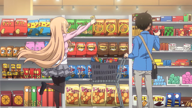 Shopping with Umaru-chan